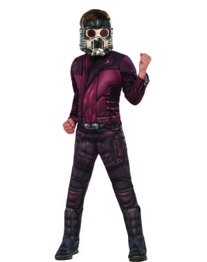 Disfraz de Star Lord Guardianes de la Galaxia 2 deluxe para niño