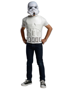 Kit disfraz de Stormtrooper Star Wars infantil