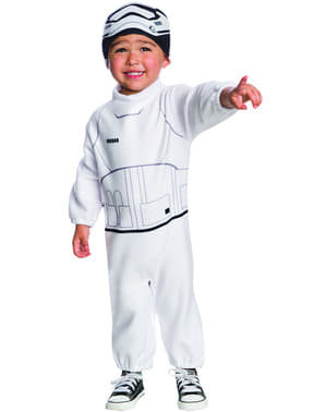 Star Wars: The Force Awakens Stormtrooper Kostuum voor baby's
