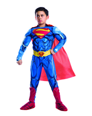 Costum Superman premium pentru băiat