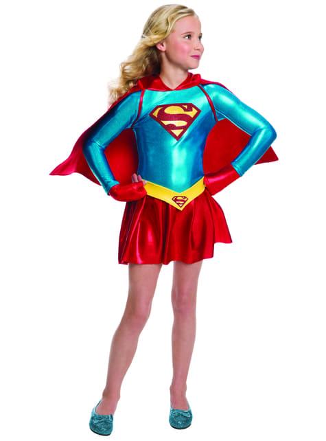 Supreme Supergirl kostume til piger