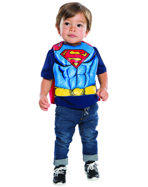 Set Maskeraddräkt Superman till bebis