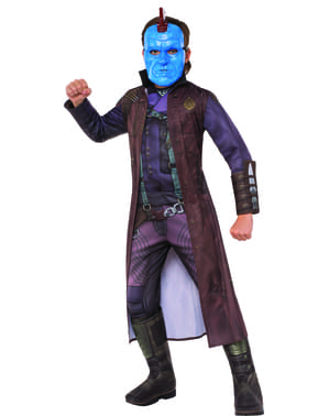 Fato de Yondu Guardiões da Galáxia 2 deluxe para menino
