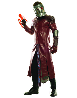 Fato de Star Lord Guardiões da Galáxia 2 Gran Heritage para homem