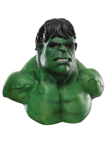 maske hulk marvel universe aus latex f r m nner f r kost m funidelia. Black Bedroom Furniture Sets. Home Design Ideas