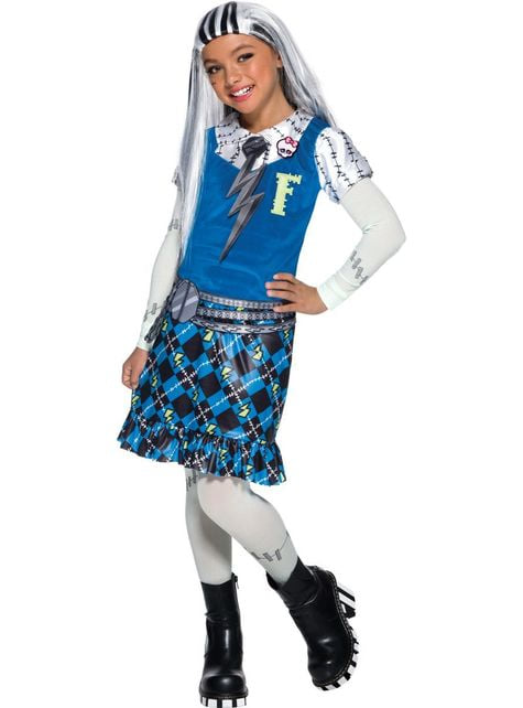 Frankie Stein Monster High costume for girls