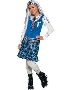 Frankie Stein Monster High kostyme for jenter