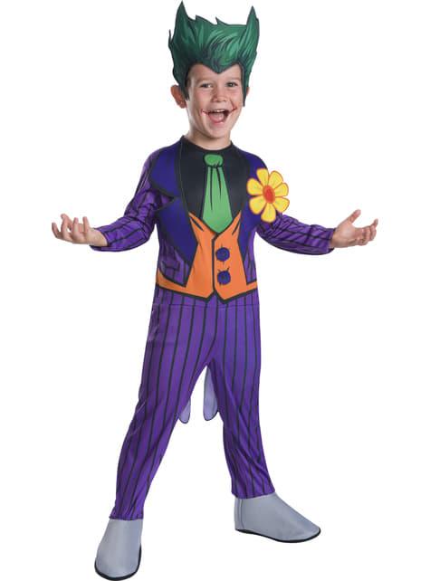 Disfraz de Joker deluxe para niño