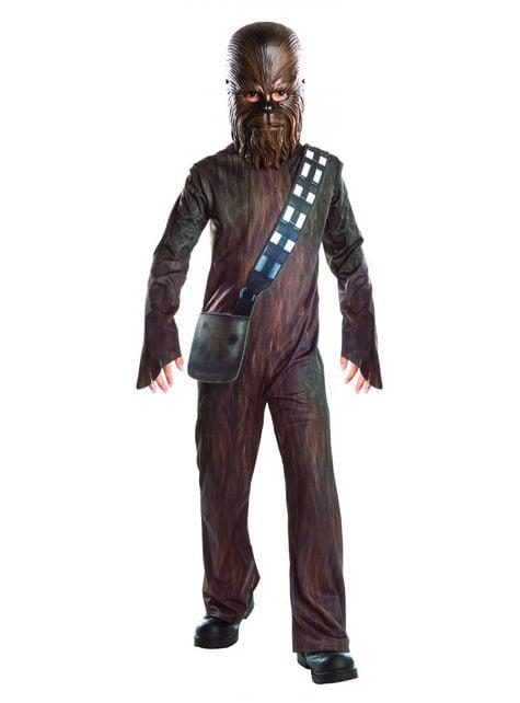 Fato de Chewbacca Star Wars Episodio VII infantil