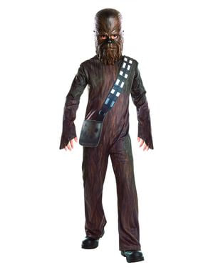 Maskeraddräkt Chewbacca Star Wars Episod VII för barn