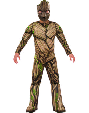 Costum Groot Guardienii Galaxiei 2 deluxe pentru băiat