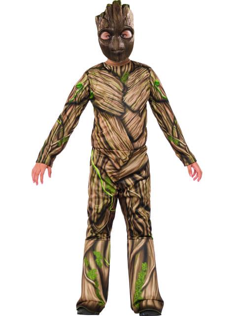 Disfraz de Groot Guardianes de la Galaxia 2 para niño