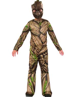 Fato de Groot Guardiões da Galáxia 2 para menino