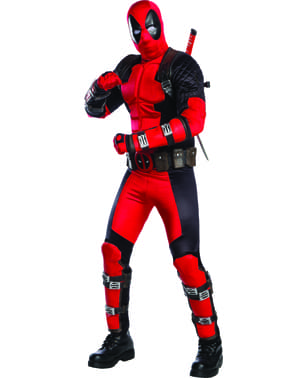Fato de Deadpool Grand Heritage para adulto
