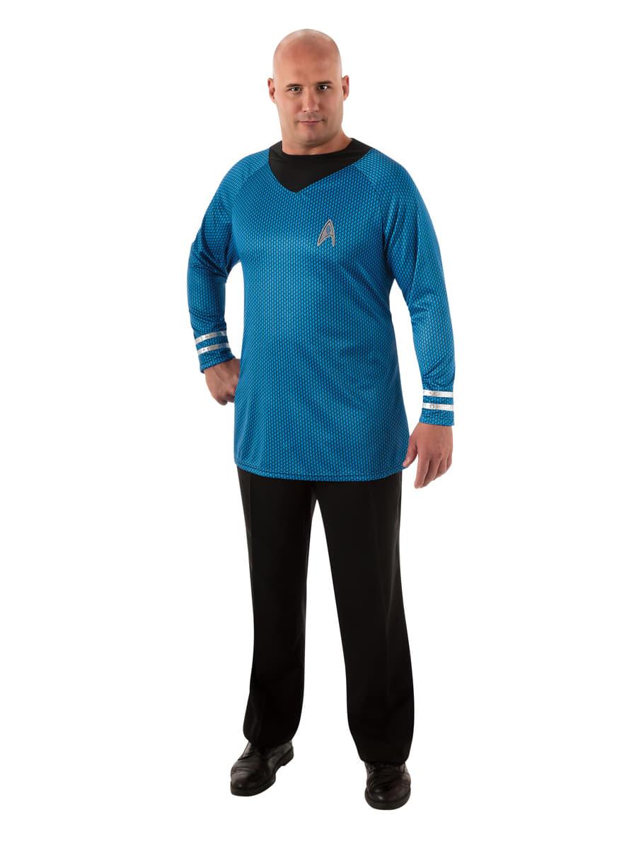 kit costume spock deluxe star trek homme grande taille livraison 24h funidelia. Black Bedroom Furniture Sets. Home Design Ideas