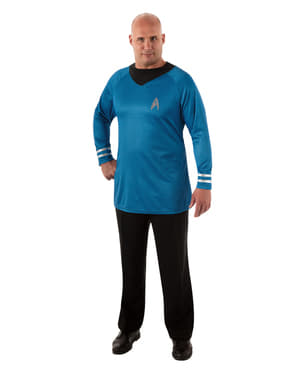 Star Trek Spock Deluxe Plus Size Costume Kit for men