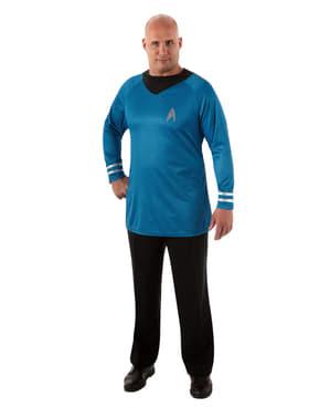 Зоряний шлях Spock Делюкс Плюс розмір костюм комплект для чоловіків