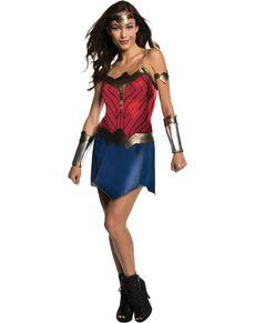 Disfraz de Wonder Woman Movie deluxe para mujer