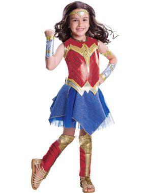 Disfraz de Wonder Woman Movie deluxe para niña