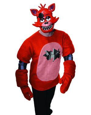 Mască Foxy Five Nights at Freddy's de plastic pentru adult