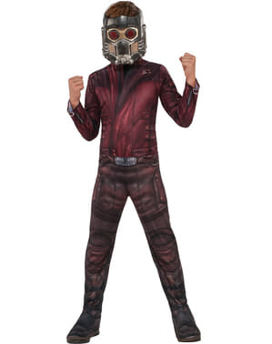 Guardians of The Galaxy 2 Star Lord kostume til et barn