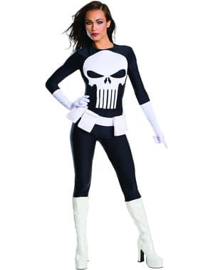 Punisher kostume til kvinder