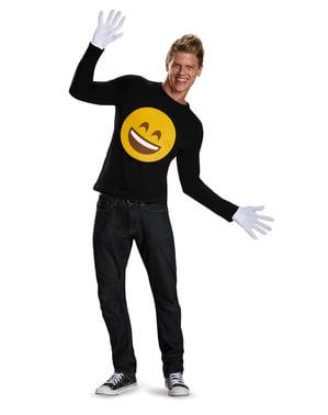 Kit de emoticons sorridente para adulto