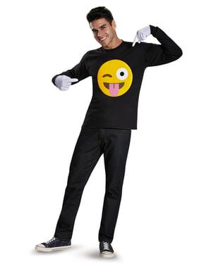 Frekt emoji sett for voksne