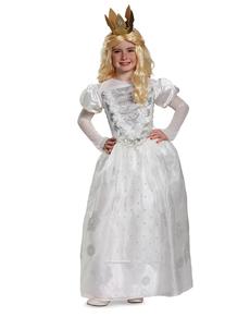 Costume da Mirana la Regina Bianca - Alice nel Paese delle Meraviglie per bambina