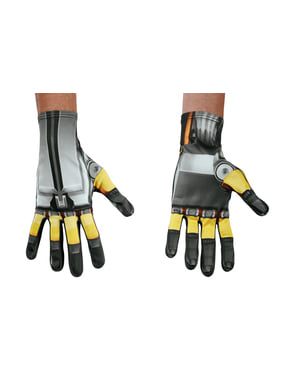 Bumblebee Transformers The Last Knight Gloves for adults