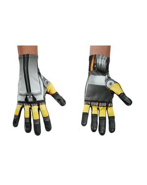 Rękawiczki Bumblebee Transformers Ostatni Rycerz dla dorosłego