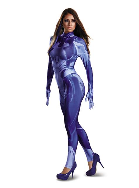 Kostium Cortana Halo druga skóra damski