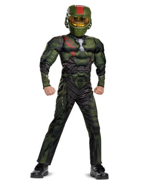 Fato de Jerome classic Halo Wars 2 para menino