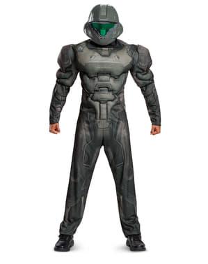 Pánský kostým Spartan (Halo) s vyrýsovanými svaly