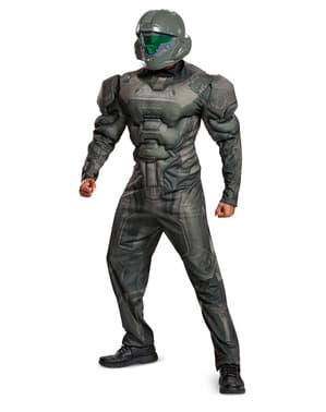 Maskeraddräkt Spartan muskulös Halo vuxen
