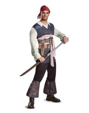 Fato de Jack Sparrow Homens Mortos Não Contam Histórias para homem