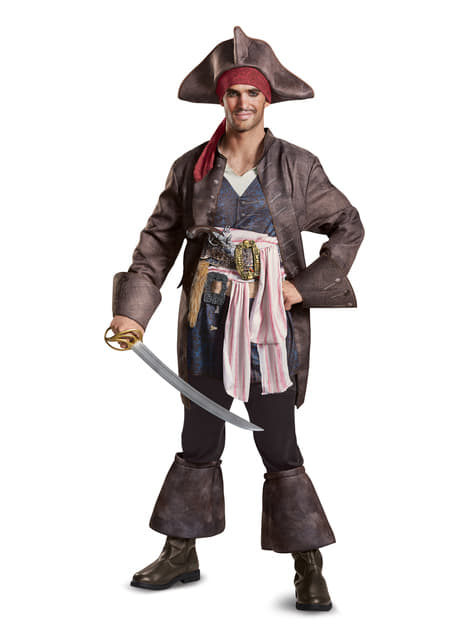 Jack Sparrow deluxe Costume - Pirates of the Caribbean