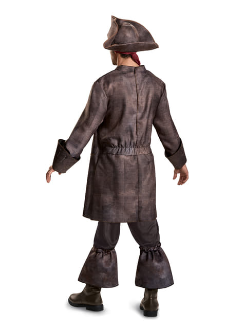 Jack Sparrow Pirates of the Caribbean: Dead Men Tell No Tales deluxe Costume for men
