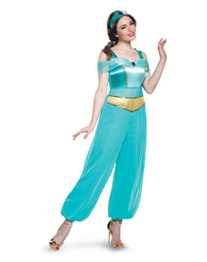 Jasmin kostyme for dame - Aladdin