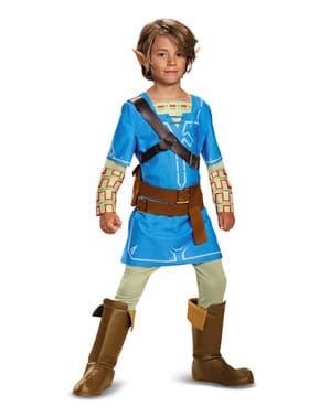 Dětský kostým Link (Legenda o Zeldě: Breath Of The Wild) deluxe