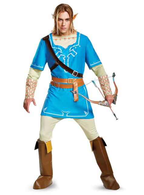Disfraz de Link Breath Of The Wild deluxe para hombre