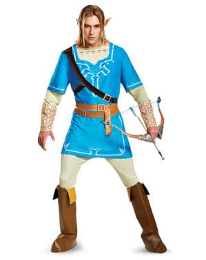 Link Breath Of The Wild kostuum deluxe voor mannen