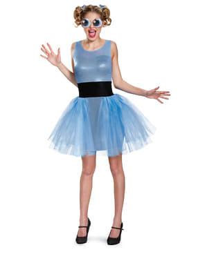 Fato de Bubbles The Powerpuff Girls para mulher