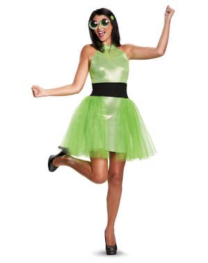 Buttercup Powerpuff girls kostuum voor vrouw