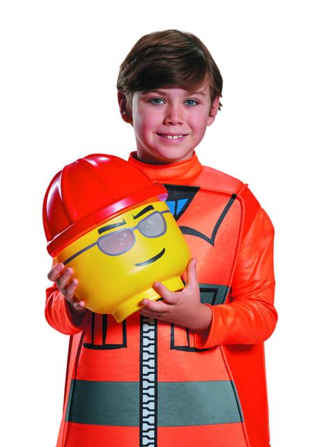 Disfraz de obrero de construcción Lego infantil - traje