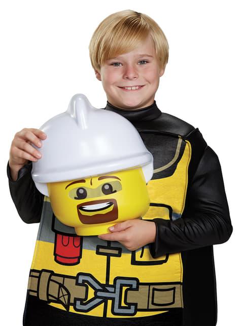 Disfraz de bombero Lego infantil - traje