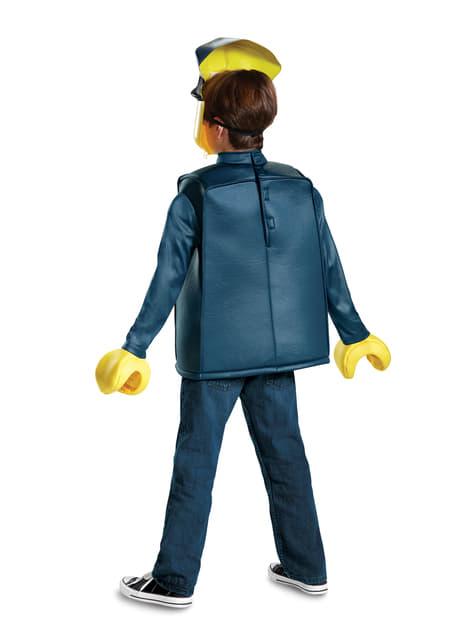 Disfraz de policía Lego infantil - infantil