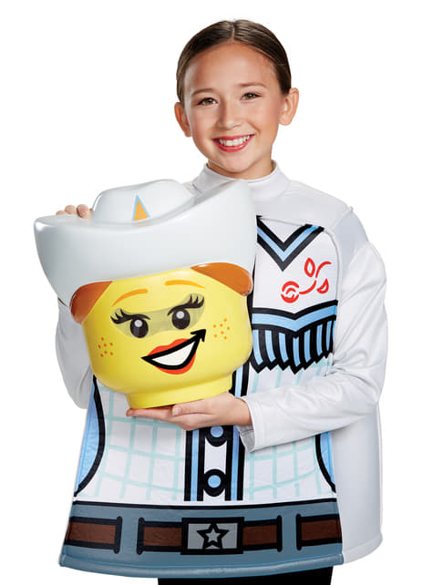 Kostium kowbojka Lego dla dziewczynki
