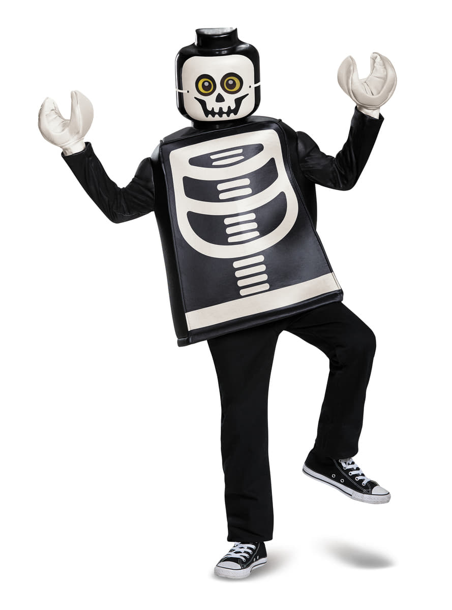 Disfraz de esqueleto Lego infantil | Funidelia