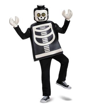 Maskeraddräkt skelett Lego för barn